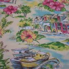 Shanty Boat Floral Outdoor Fabric Take All 15.95 -FS