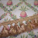 Custom Pineapple Diamond Handmade Pillow with Fringe Choice 175.00-FS
