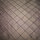 Silk Fabric, Diamond Pattern, EPT-E20-Tobacco 23.95per yd-FS