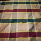 Silk Plaid Fabric CK204 27.99per yd-FS