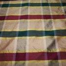 Silk Plaid Fabric CK204 27.99per yd-FS