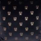 Velvet Bee Fabric Black 1yard TAKE ALL 36.95