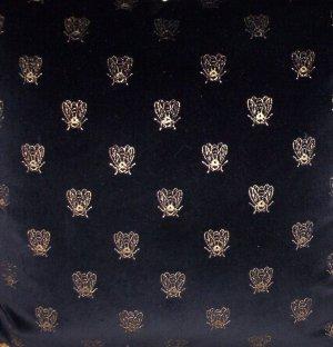 Velvet Bee Fabric Black 1yard TAKE ALL 36.95