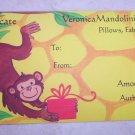 Gift Certificate $25.00- Monkey Gift Design