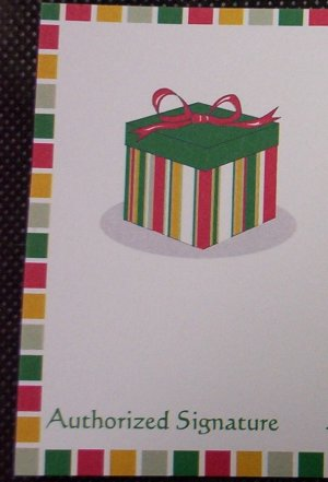 Gift Certificate $25.00- Present Design
