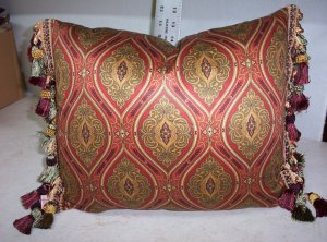 Medalion Design Handmade Pillow   $50.73