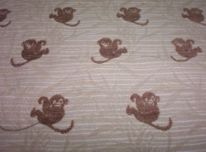 20732 Chenille Monkey George  33inch piece    $28.95