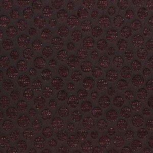 24450 Chenille Black Dots/Circles  1.5 yard piece 32.95