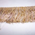 "21454-CR03 3"" Cut Chenille Brush Fringe, Gold 14.49"