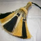 Tassel Black, Cream, Ivory 8 inch 45.00
