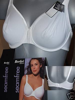 38d BERLEI soluitions white smooth underwired bra NEW WITH ORIGINAL TAGS