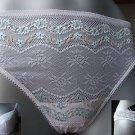 GOSSARD GARLAND g string thong size lg 14/16 white BNWT