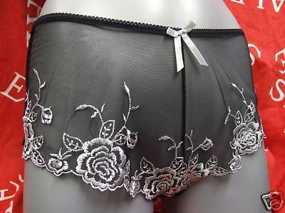 size 10 Fulfilled Silver Orchid french knickers BNWT