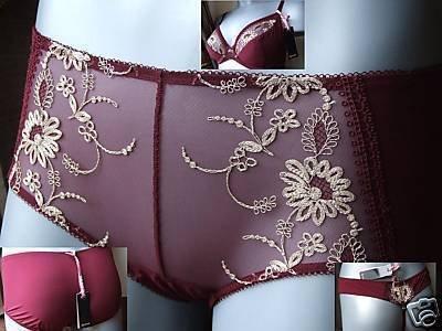 Gossard Tresor ruby lycra Short size xs 8/10 BNWT