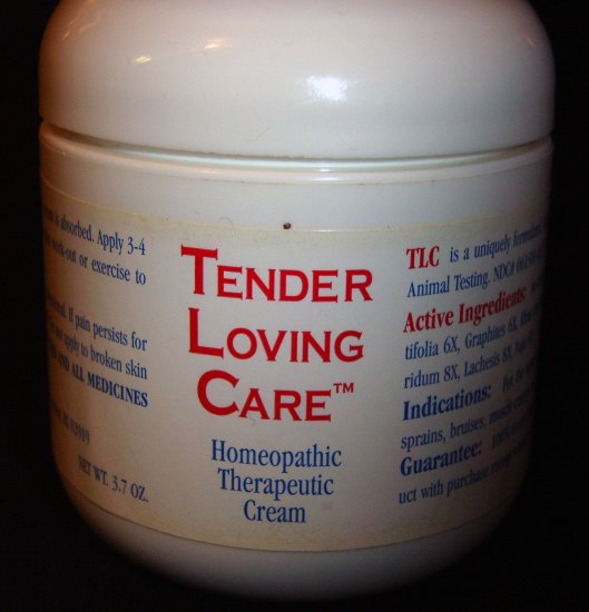 Tender Loving Care Homeopathic Therapeutic Cream - 3.7 oz.