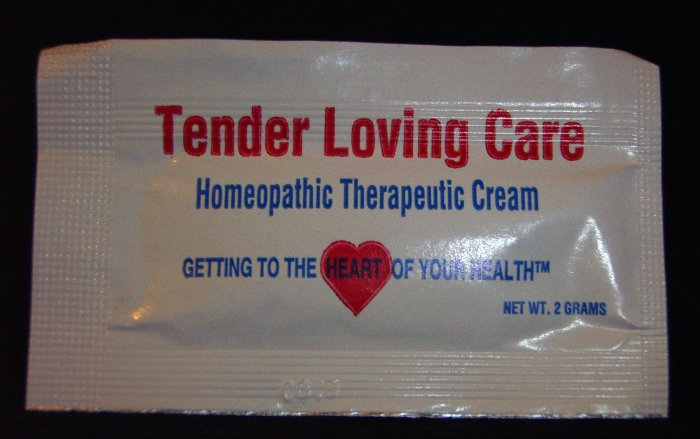 Tender Loving Care Homeopathic Therapeutic Cream - 144 / 2 gram Packets