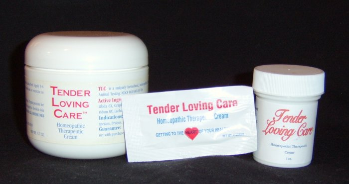 Tender Loving Care Homeopathic Therapeutic Cream - Set