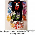 Colorful Butterfly Bracelet and Earring set, specify your color(s) during checkout