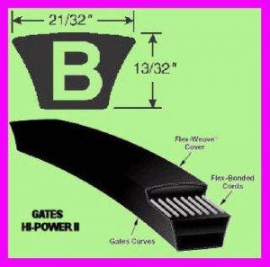 "** Gates Hi-Power II B430 V-Belt B 430 Industrial / Automotive 431"" OC NEW **"
