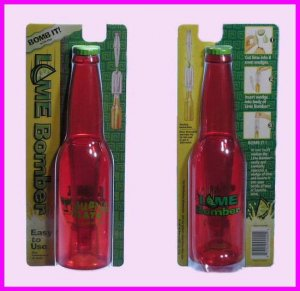 ** Red Tijuana Flats Lime Bomber Corona Beer Wine Bar Party Citrus Tool NEW **