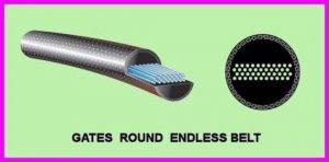 "** Gates Round Endless 104"" x 9/16"" RE Belt 9x104 / 88203404 / 8820-3404 NEW **"