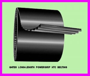 ** 15' Gates Long Length PowerGrip GT2 Belting LL5MR15 / 93960025 / 9396-0025 **