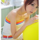 [W0033]Korean Style 1-piece Tube Top Bottom - White 韩版甜美抹胸连身裤—白色