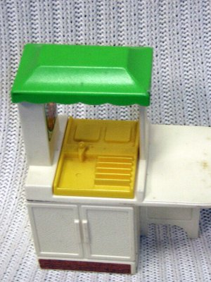 Little tikes doll house furniture kitchen hc10 for Little tikes spare parts
