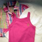 US Polo 3 Piece Girls Mix Match Summer Set (HC26)