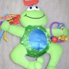 Lamaze Jumpin Jack Frog Soft Tether Hang Toy with Squeaks