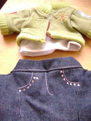 Webkinz Clothing Denim Pants and Jacket (HC43)