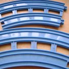 Tomy Replacement Double Blue Track Pieces for Thomas Tank Engine (HB31)