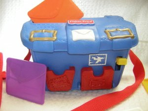 Fisher Price Vintage # 72363 Lil Mail Carrier Collectible Playset (HB38)