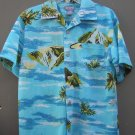 Boys Children's Place Short Sleeve Mesh Tropical Shirt (HC25)