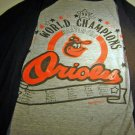 World Champion Baltimore Orioles 1983 Collector  Sleeve Tee