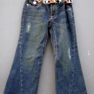 Fashionable Crest Jeans with Belt Size 5 (HC26)