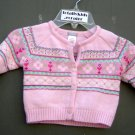 Carters Pink Sweater with Design (HC26)