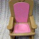 Fisher Price Mattel Loving Family Doll Rocking Chair 1993 (HC10)