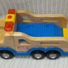 Little Tikes Wooden Plastic Tow Truck with Sounds 2003