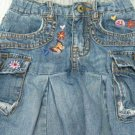 Children's Place Adjustable Waist Denim Skirt with Panties (HC26)