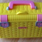 Fisher Price Yellow Wicker Look Picnic Basket (HC21)