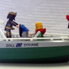 Playmobil Zoll Douane Speed Boat with Pirates (HC21)