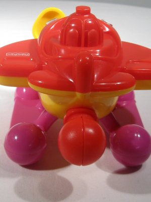 Fisher Price Pop Onz Pop�N Fly Plane 2004 (HB33)