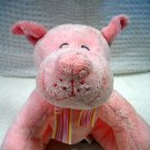 Russ Baby Plush Soft Pink Rattle Dog (HC20)