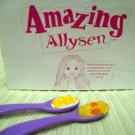 Playmates Toys Amaing Allysen Replacement Two Spoon with Pretend Food