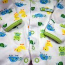 Carter's One Piece Preemie Boys Snap Sleeper Frog Duck Print (HC19)