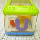 Fisher Price Replacement Alphabet Peek-a-Block Letter U