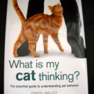 What is My Cat Thinking Hardcover Book by Gwen Bailey
