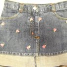 Gymboree Denim Skort Adjustable Waist Size 3 (HC26)