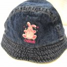 Osh Kosh Denim Fleece Lined Hat with Brim Size 12-24Months (HC27)